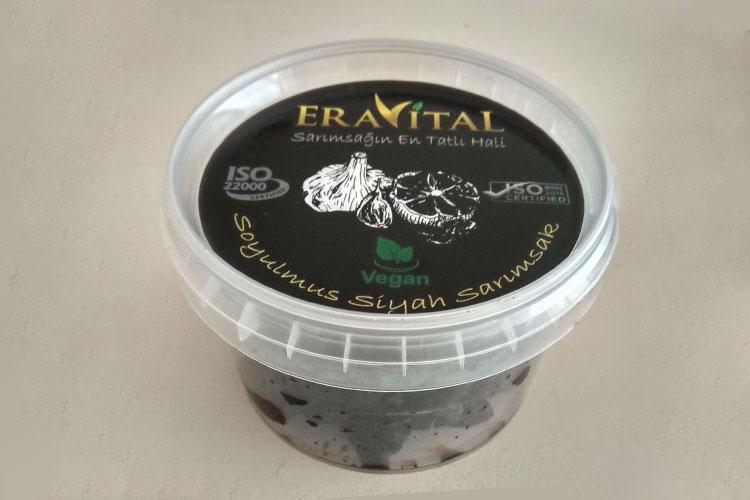 ®Ervital ממרח שום שחור טרי